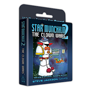 Star Munchkin 2 – The Clown Wars cover