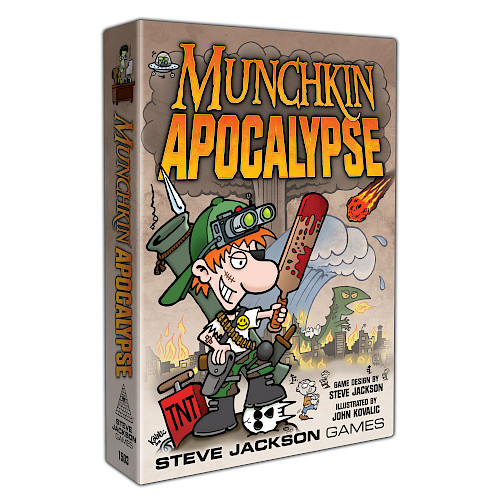 Munchkin Apocalpyse cover