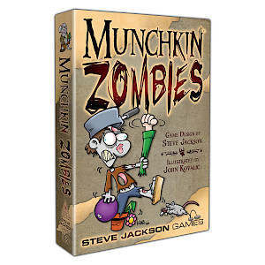Munchkin Zombies cover