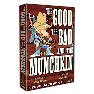 The Good, The Bad, and the Munchkin cover