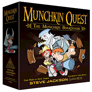 Munchkin Quest cover