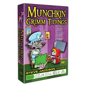 Munchkin Grimm Tidings cover
