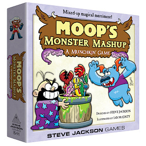 Moop's Monster Mashup cover