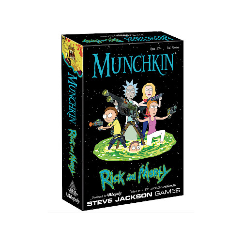 Munchkin: Rick and Morty cover