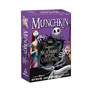 Munchkin Nightmare Before Christmas cover