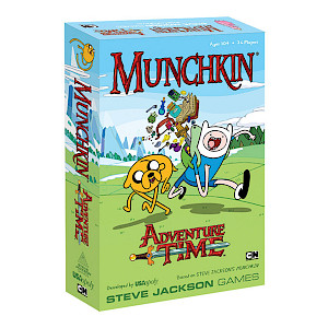Munchkin Adventure Time cover