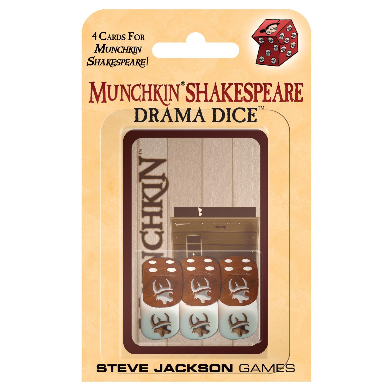 Munchkin Shakespeare Drama Dice Steve Jackson Games