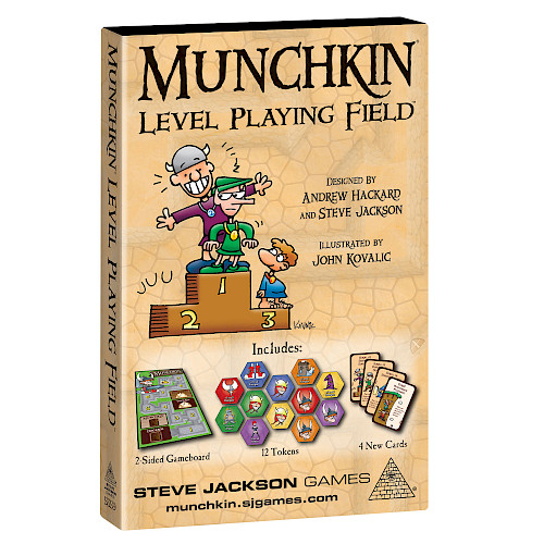 Munchkin Level Playing Field cover