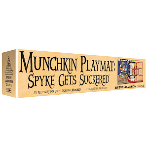 Munchkin Playmat: Spyke Gets Suckered cover