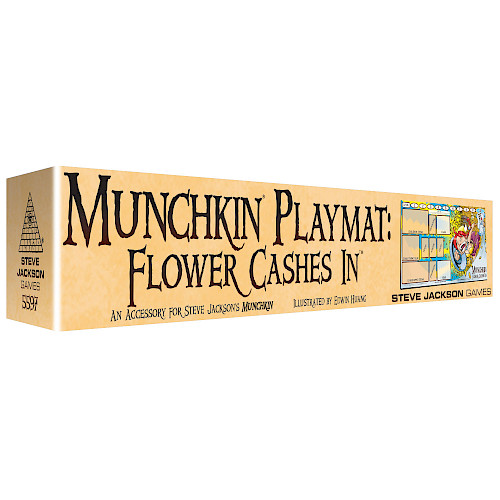 Munchkin Playmat: Flower Cashes In cover