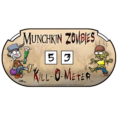 Munchkin Zombies Kill-O-Meter cover