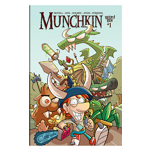 Munchkin Comic Issue #1 cover