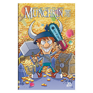 Munchkin Comic Issue #2 cover