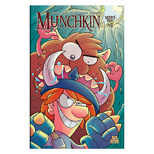 Munchkin Comic Issue #4 cover