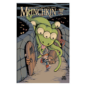 Munchkin Comic Issue #5 cover