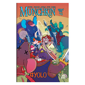 Munchkin Comic Issue #6 cover