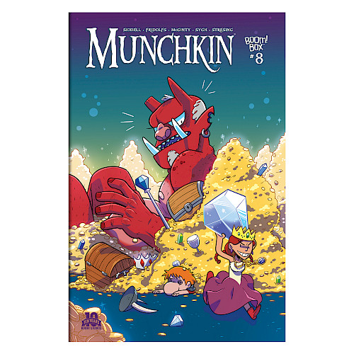 Munchkin Comic Issue #8 cover