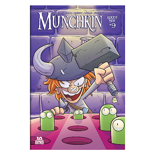 Munchkin Comic Issue #9 cover