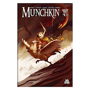 Munchkin Comic Issue #10 cover
