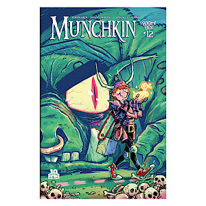 Munchkin Comic Issue #12 cover