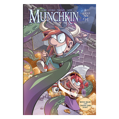 Munchkin Comic Issue #14 cover