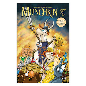 Munchkin Comic Issue #15 cover
