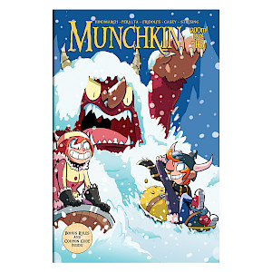 Munchkin Comic Issue #16 cover
