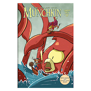 Munchkin Comic Issue #17 cover