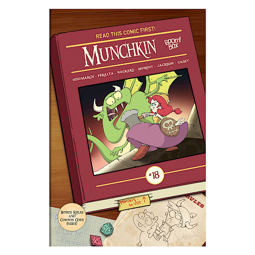Munchkin Comic Issue #18 cover