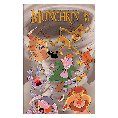 Munchkin Comic Issue #19 cover