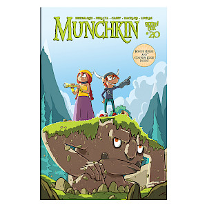 Munchkin Comic Issue #20 cover