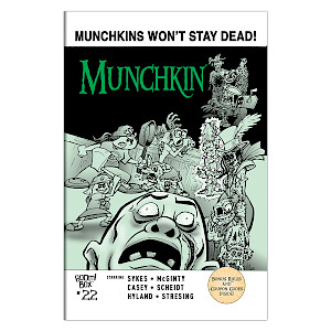 Munchkin Comic Issue #22 cover
