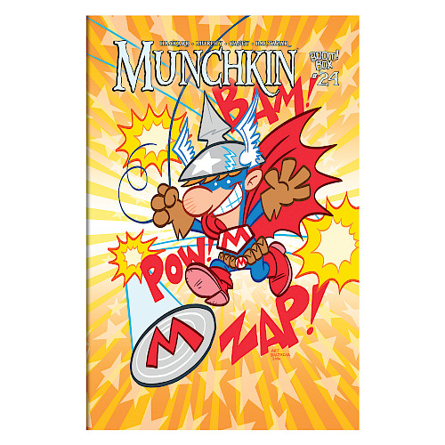 Munchkin Comic Issue #24 cover