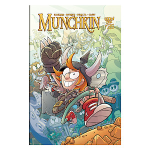 Munchkin Comic Issue #25 cover