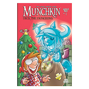 Munchkin Comic Deck the Dungeons Special cover