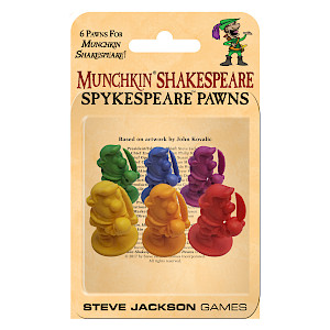 Munchkin Shakespeare: Spykespeare Pawns cover