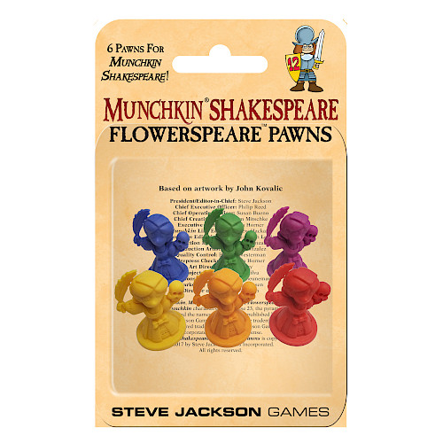 Munchkin Shakespeare: Flowerspeare Pawns cover