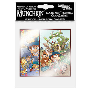 Munchkin Doors and Treasures Card Sleeves cover