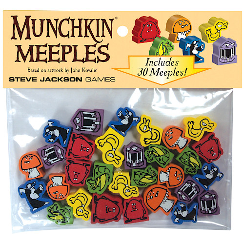 Munchkin Meeples cover