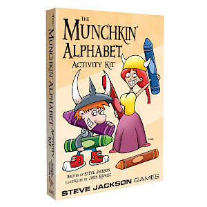 Munchkin Alphabet Activity Kit cover