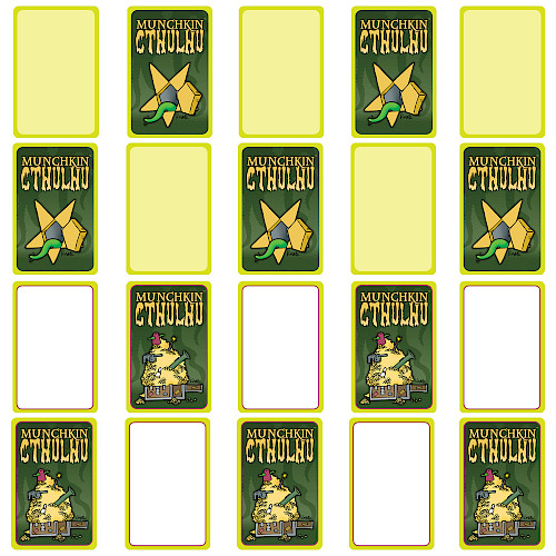 Munchkin Cthulhu Blank Cards cover