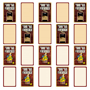 The Good, the Bad, and the Munchkin Blank Cards cover
