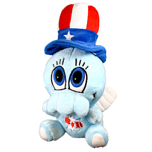 Chibithulhu Plush (July 4) cover