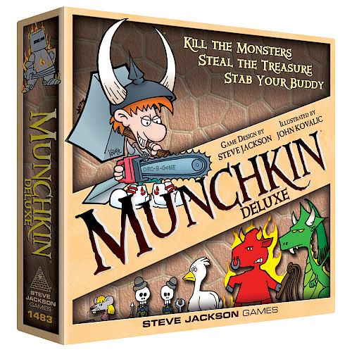 Munchkin Deluxe cover
