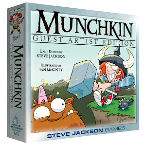 Munchkin Guest Artist Edition (McGinty) cover