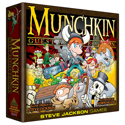 Munchkin Guest Artist Edition (Huang) cover