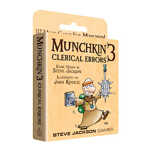 Munchkin 3 — Clerical Errors cover