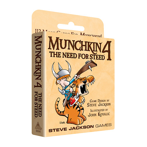 Munchkin 4 — The Need For Steed cover