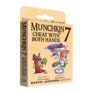 Munchkin 7 — Cheat With Both Hands cover