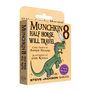 Munchkin 8 — Half Horse, Will Travel cover